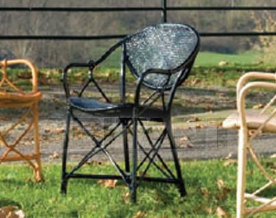 Купить Стул с подлокотниками Frigerio Carlo Rattan Living SUPERLIGHT lacquered rattan armchair