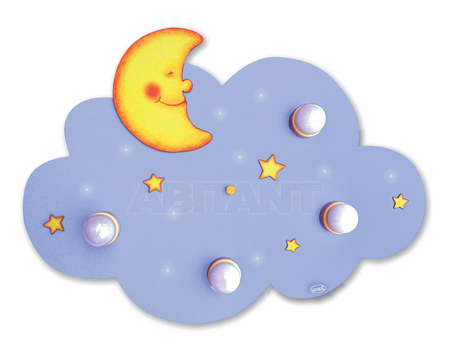 Купить Светильник для детской  Waldi Leuchten Lampen Fur Kinder 2012 66102.0