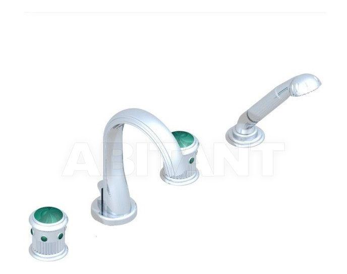Купить Смеситель для ванны THG Bathroom U7A.112B Trocadéro Malachite