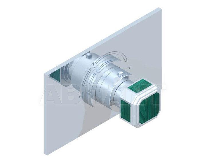 Купить Смеситель термостатический THG Bathroom A3F.5100B Medicis Malachite