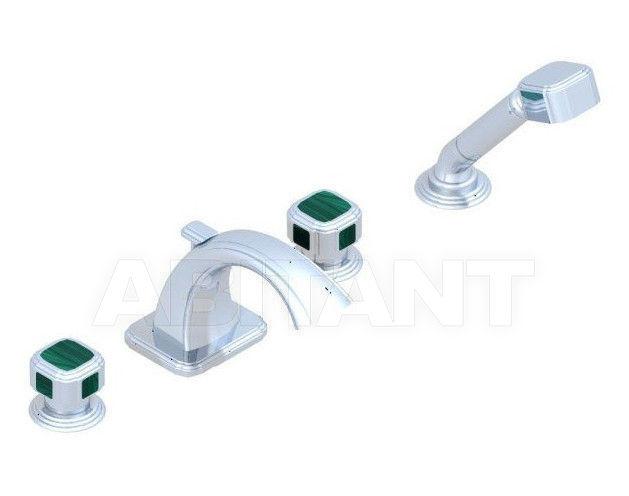 Купить Смеситель для ванны THG Bathroom A3N.112BG Venezia Malachite