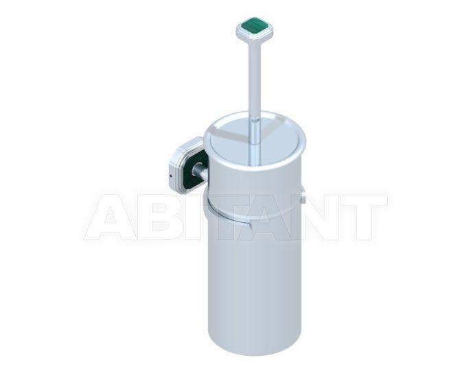 Купить Щетка для туалета THG Bathroom A3N.4720C Venezia Malachite