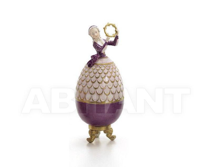 Купить Статуэтка EGG SHAPE DANCER Villari Capodimonte 0002203-002