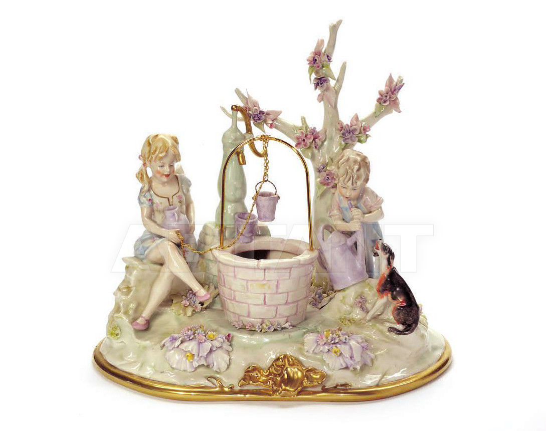 Купить Статуэтка SHAFT OF WISHES Villari Capodimonte T.01626-002