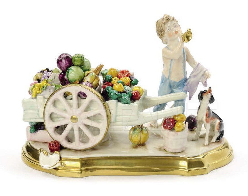 Купить Статуэтка THE GREENGROCER Villari Capodimonte T.01851-002