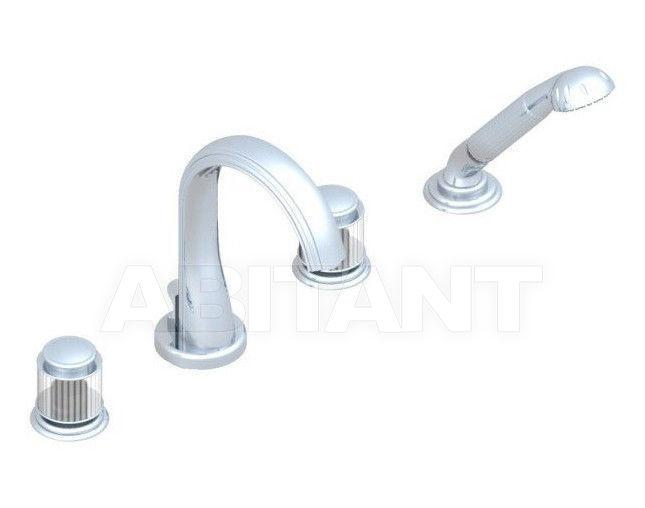 Купить Смеситель для ванны THG Bathroom A9B.112B Jaipur satin crystal