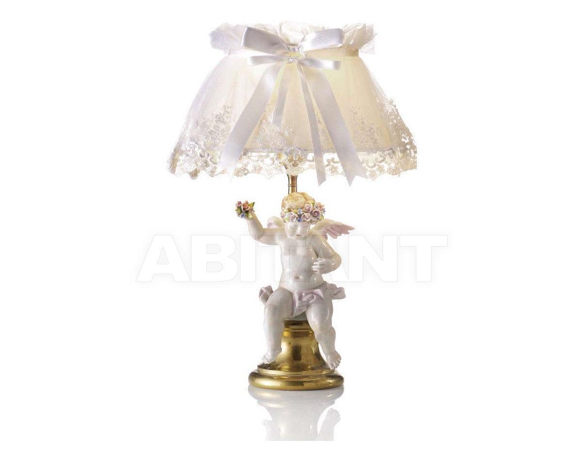 Купить Лампа настольная LAMP.PUTTO ROSE-RIC.30 Villari Capodimonte T.00251-002