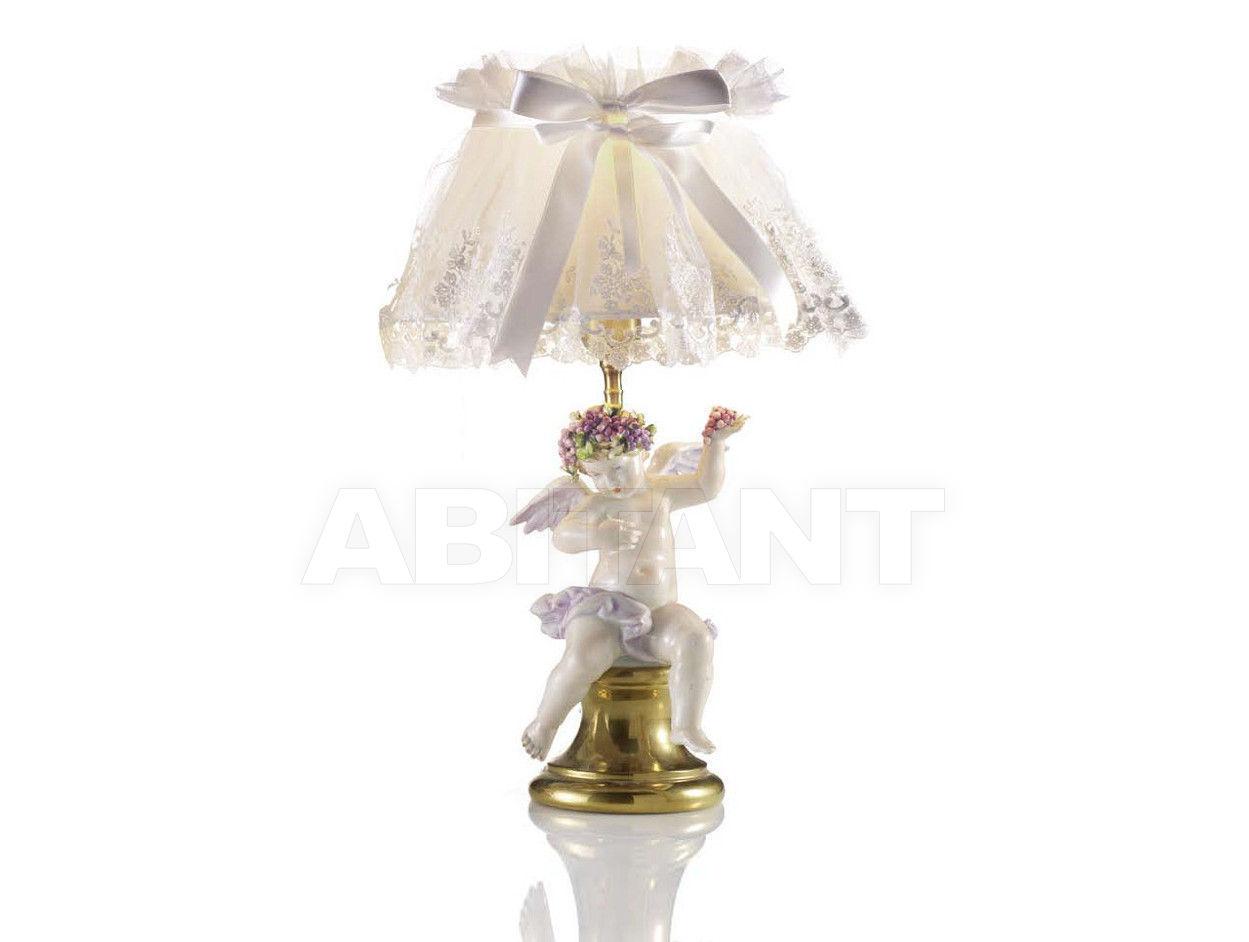Купить Лампа настольная LAMP.PUTTO ROSE-RIC.30 Villari Capodimonte T.00252-002