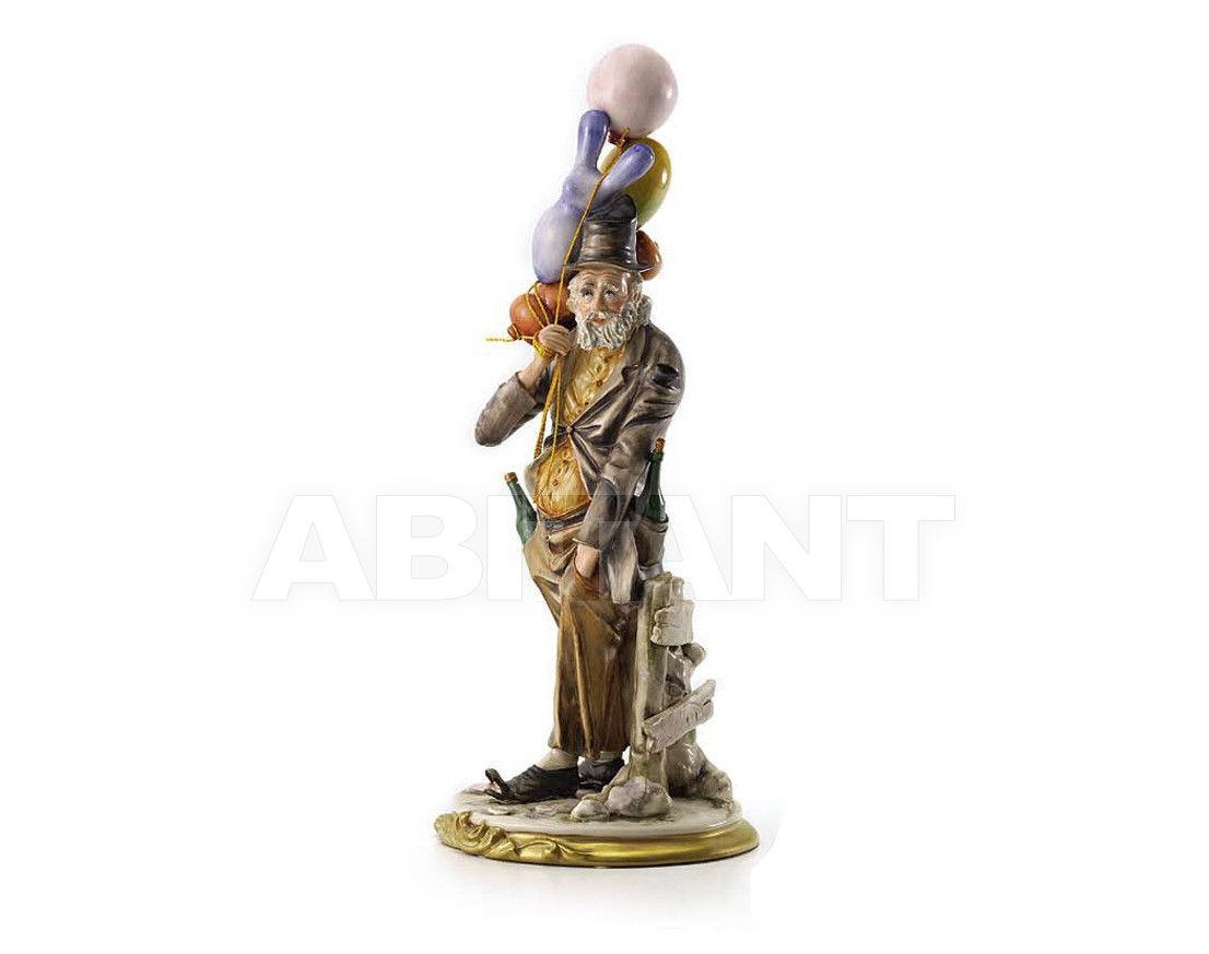 Купить Статуэтка OLD MAN WITH BALLS Villari Capodimonte T.02125-002
