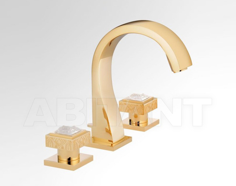 Купить Смеситель для раковины THG Bathroom A2T.151 Masque de Femme, engraved metal