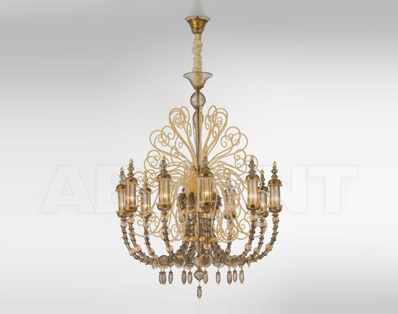 Купить Люстра Sylcom s.r.l. Segno 1798/10 FU ORO