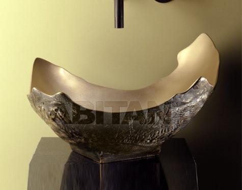 Купить Раковина накладная Stone Forest Раковины из меди, бронзы и нерживеющей стали СP-11 / GB