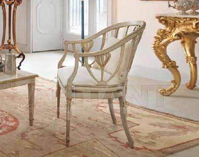 Купить Стул с подлокотниками Galimberti Lino Salotti Decorati 1576/P
