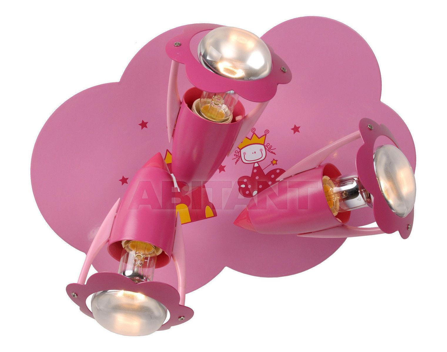 Купить Светильник для детской PINKY Lucide  Wall & Ceiling Lights 77173/13/66