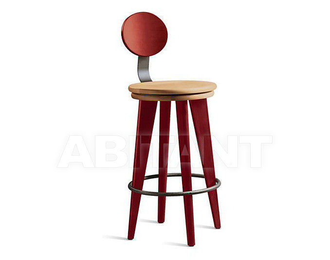Купить Барный стул Altura Furniture 2013 Top Stool-01 со спинкой / NATURAL 2