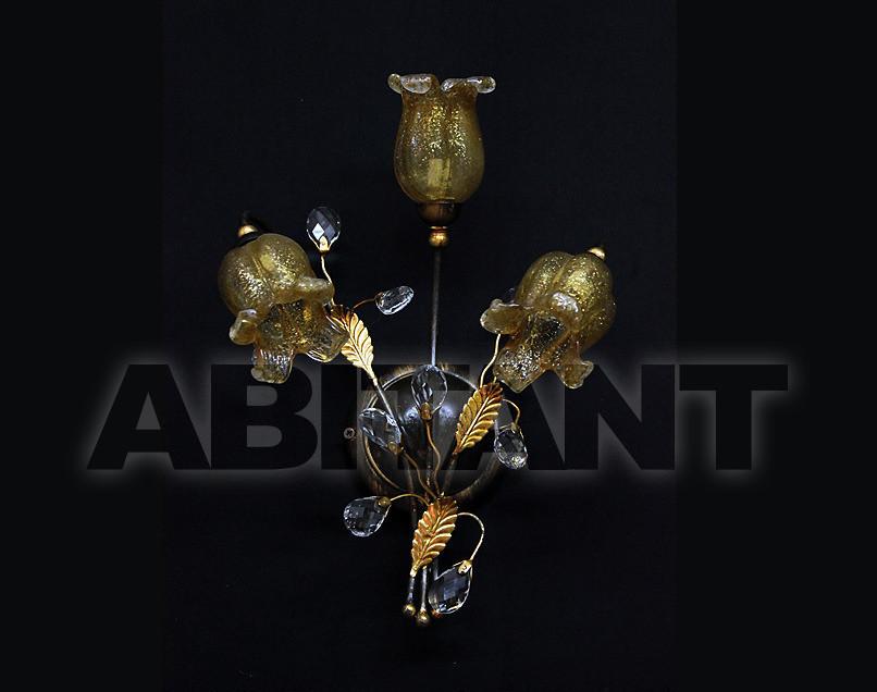 Купить Светильник настенный Due Effe lampadari Applique Rosy A-3/L