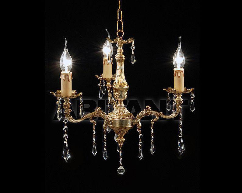 Купить Люстра Due Effe lampadari Lampadari 4000/3L con Sw
