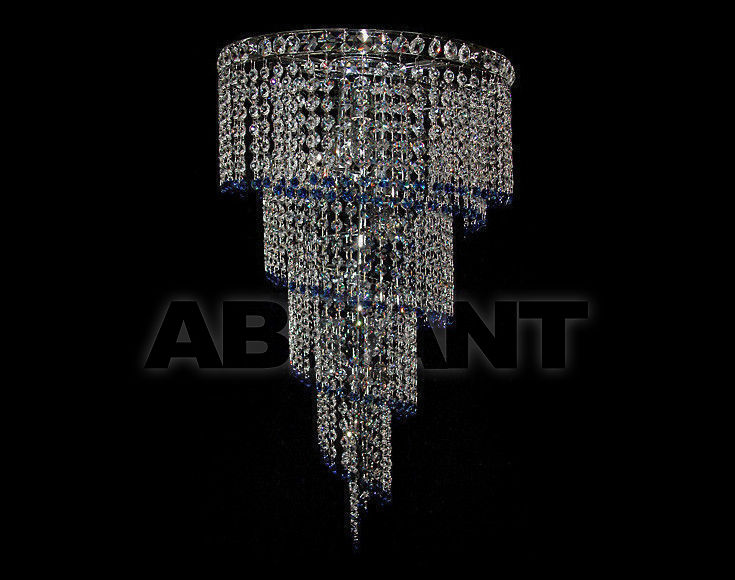 Купить Люстра Due Effe lampadari Plafoniere Spirale plaf 40 BLU