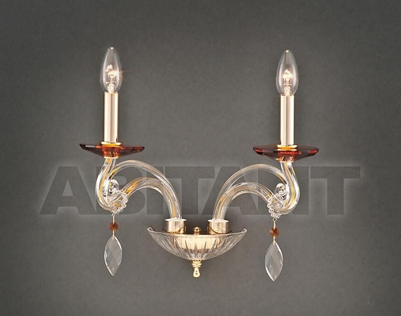 Купить Светильник настенный Due Effe lampadari Applique CARLA A/2