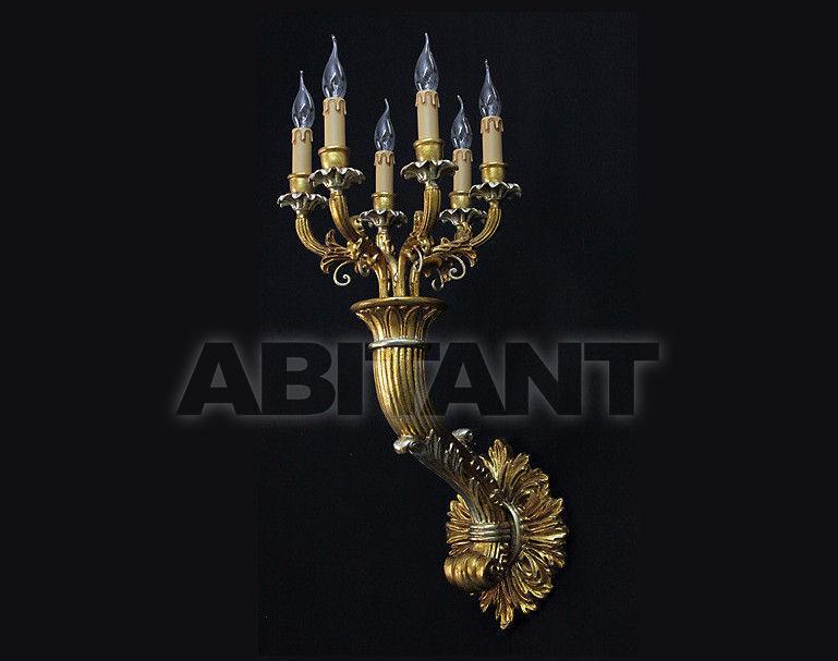 Купить Светильник настенный Due Effe lampadari Applique CORNO A-6/L DEC.02