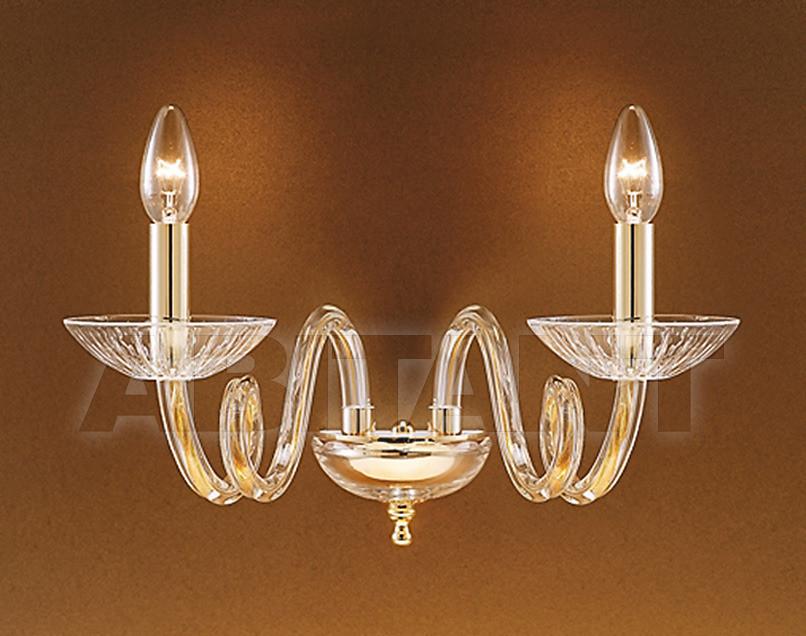 Купить Светильник настенный Due Effe lampadari Applique LUANA A/2