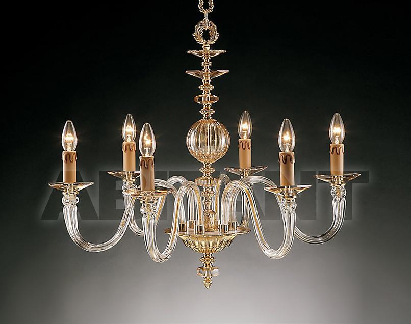 Купить Люстра Due Effe lampadari Lampadari ANITA 6/L AMBRA