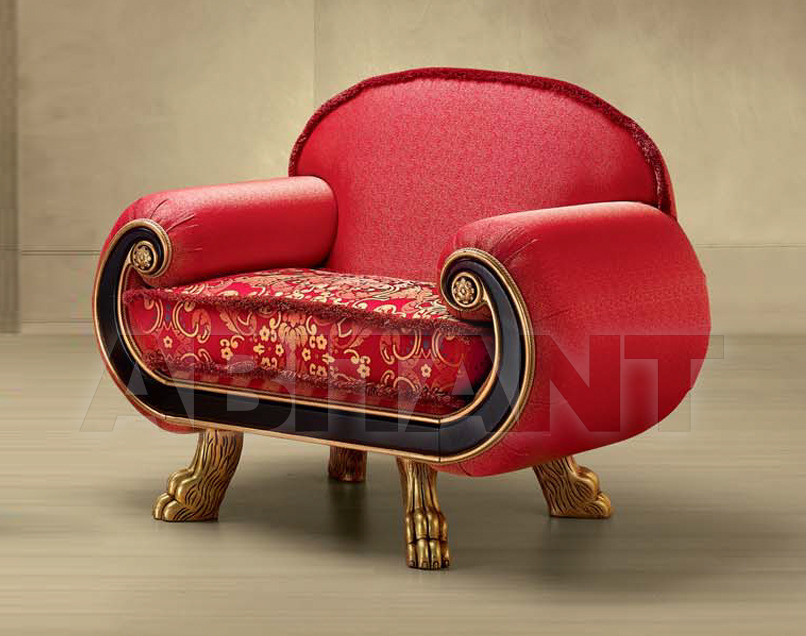 Купить Кресло Morello Gianpaolo Red 112/RK POLTRONA
