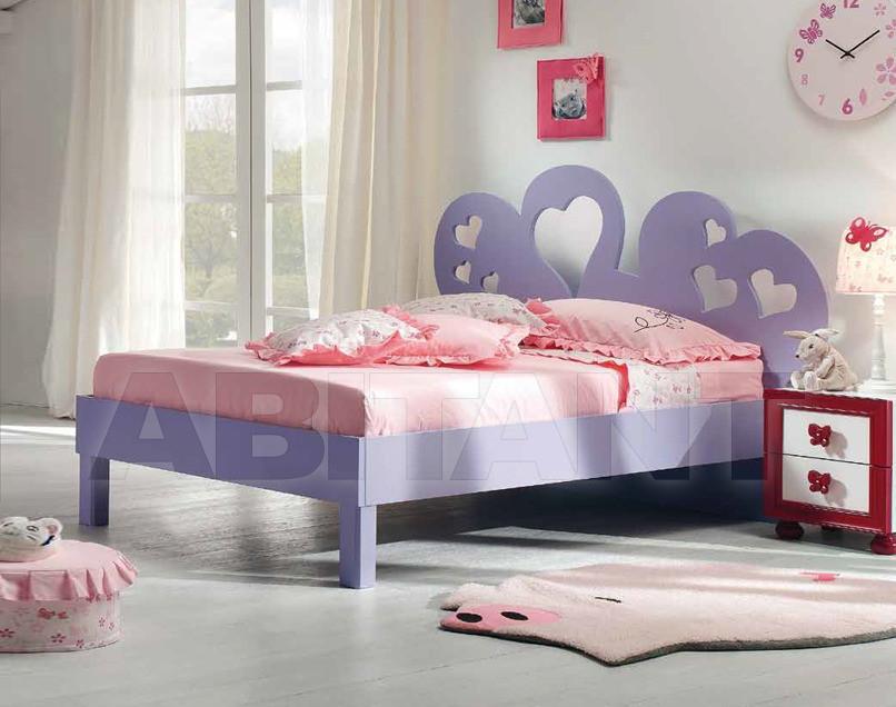 Купить Кровать детская BL Mobili I Colori Dei Sogni 1228