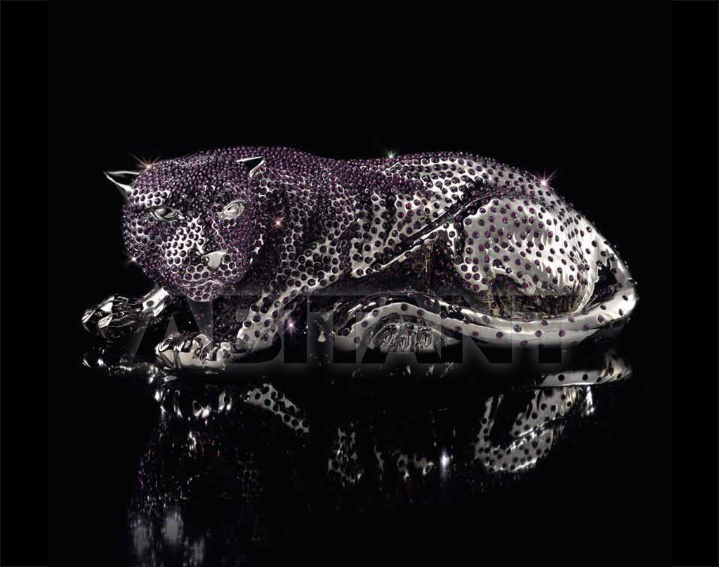 Купить Статуэтка AMETHYST PANTHER Villari Limited Edition 18.2695-606