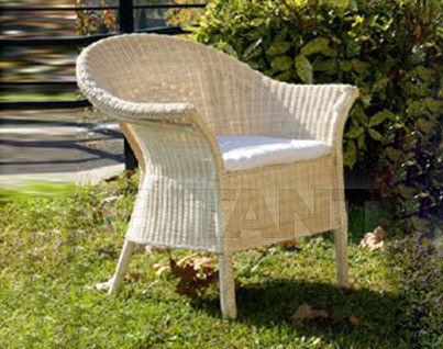 Купить Стул с подлокотниками Frigerio Carlo Rattan Living ALFA armchair