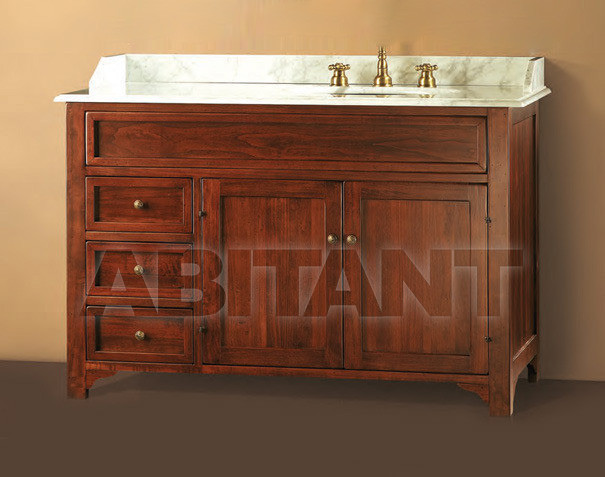 Купить Тумба под раковину Gaia Bathroomcollection BAirisNO + MA124dxA