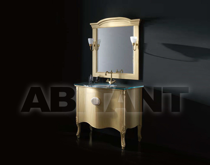 Купить Композиция Sanchis Muebles De Bano S.L. Luna SET OF 101 CM COLOUR- FRENCH GOLD