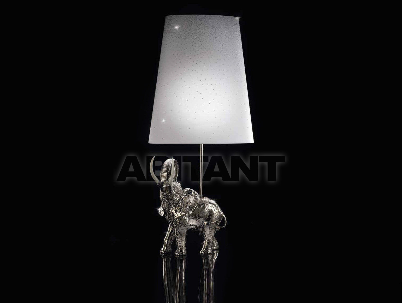 Купить Лампа настольная DIAMOND ELEPHANT LAMP Villari Limited Edition 10.0431-606