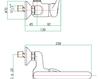 Смеситель для раковины Fiore Aqua 37 CR 4296 Современный / Скандинавский / Модерн