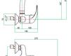 Смеситель для раковины Fiore Aqua 43 CR 4260 Современный / Скандинавский / Модерн