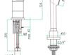 Смеситель для ванны Fiore Aqua 37 CR 2290 Современный / Скандинавский / Модерн