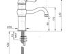 Смеситель для раковины Nicolazzi Aqua 3471 BZ 75 Современный / Скандинавский / Модерн