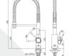 Смеситель для кухни Rubinetteria Paffoni L E V E L LEA 176 Современный / Скандинавский / Модерн