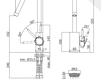 Смеситель для раковины Rubinetteria Paffoni L E V E L LEA 078 Современный / Скандинавский / Модерн