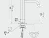 Смеситель для раковины MGS Contemporary Beauty 2011 022945238B Современный / Скандинавский / Модерн