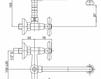 Смеситель для раковины Cezares Rubinetteria LVPOLF104200 Современный / Скандинавский / Модерн