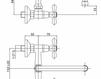 Смеситель для раковины Cezares Rubinetteria LVPOLF100200 Современный / Скандинавский / Модерн