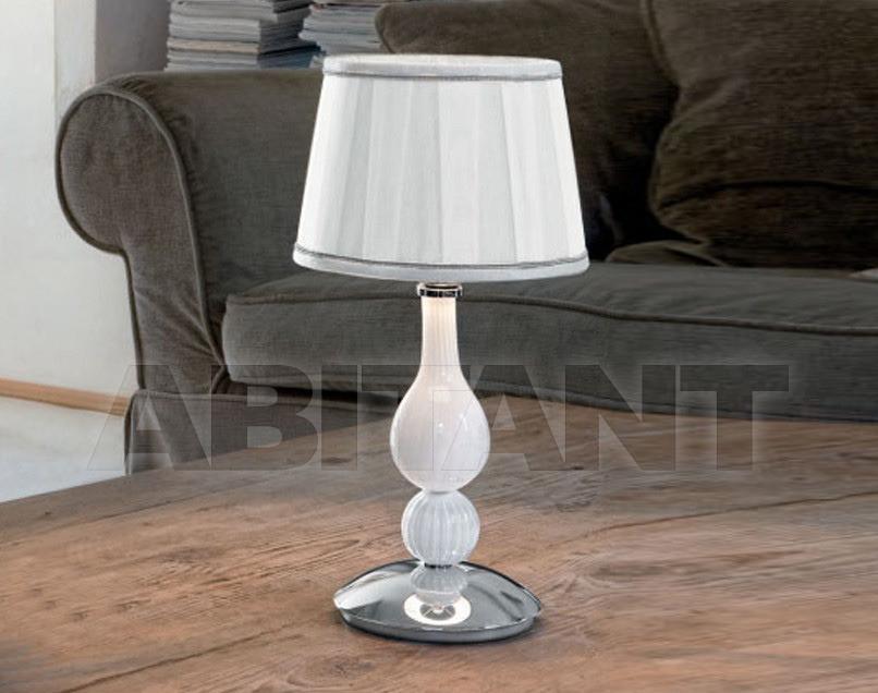 Купить Лампа настольная Sylcom s.r.l. Segno 1422/20 CP BL.CR