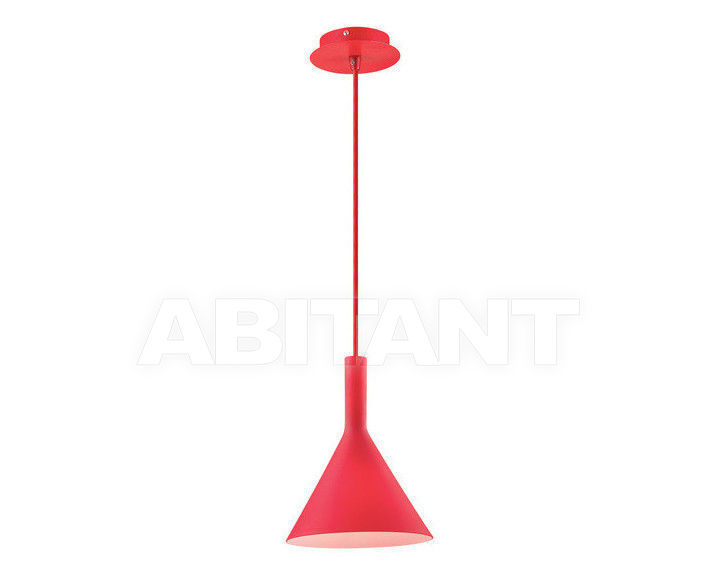 Купить Светильник Ideal Lux 2013-2014 COCKTAIL SP1 SMALL ROSSO
