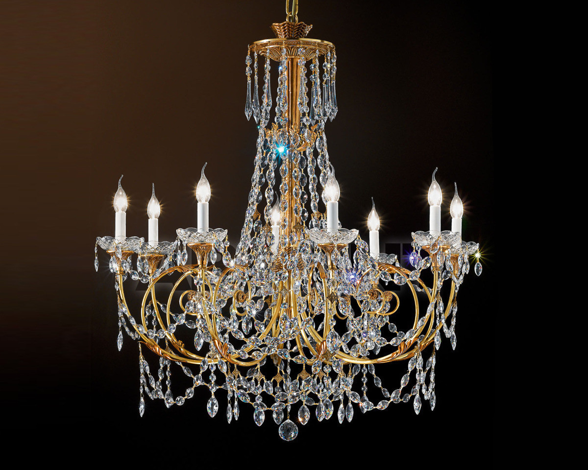 Купить Люстра Possoni Illuminazione Ricordi Di Luce 5521/8-C/SW