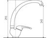 Смеситель для кухни Giulini Cucina 8514 Современный / Скандинавский / Модерн