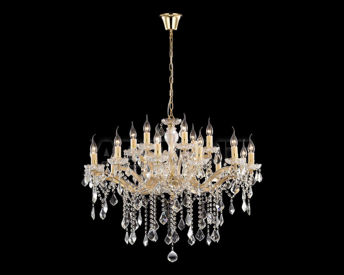 Купить Люстра Ideal Lux 2013-2014 FLORIAN SP18 ORO