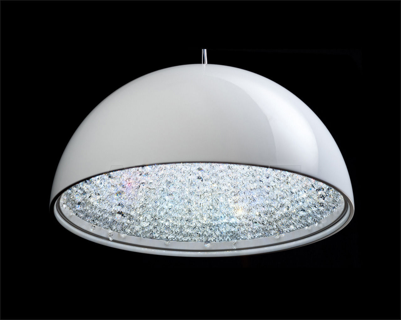 Купить Люстра Manooi Crystalight Lune 60 white