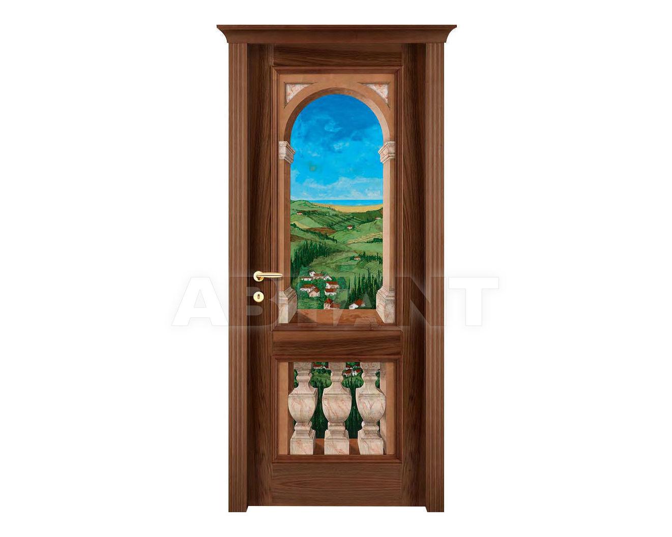Купить Дверь деревянная Fioravazzi Classiche PATRIZIA 27 TROMPE L'OEIL