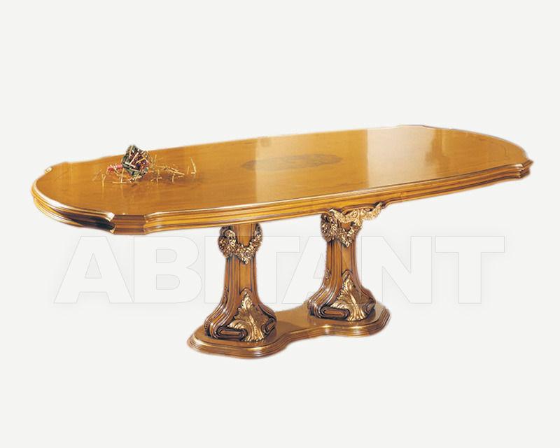 Купить Стол обеденный Fratelli Radice 2013 370 tavolo ovale con 1 base doppia
